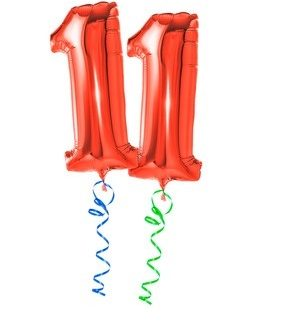 Balloons Letter & Number