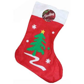 35cm Christmas Tree Stocking