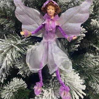 """12"""" Fairy Angel Purple"""
